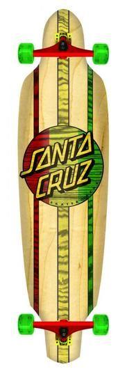 Santa Cruz Cruzer Complete Drop Thru Longboard 35 Inch