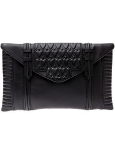 Reece Hudson - Oversized leather clutch