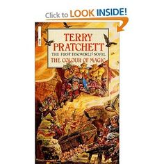 Terry Pratchett Discworld Books: The Colour of Magic-The Light Fantastic-Equal Rites-Mort-Sourcery-Wyrd Sisters-Pyramids-Guards! Guards!-Eric-Moving Pictures-Reaper Man-Witches Abroad-Small Gods-Lords and Ladies-Men at Arms-Soul Music-Interesting Times-Maskerade-Feet of Clay-Hogfather-Jingo-The Last Continent-Carpe Jugulum-The Fifth Elephant-The Truth-Thief of Time-The Last Hero-Night Watch-Monstrous Regiment-Going Postal-Thud!-Making Money-Unseen Academicals-Snuff