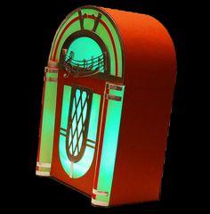 3D SVG Jukebox Digital download SVG