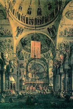 Interior of St. Marks Church, Venice