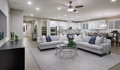 This open, inviting home in Las Vegas, NV, was designed for entertaining   Paisley plan by Richmond American