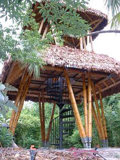 Guaduatech / Bamboo architecture