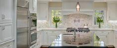 White kitchen, organic-textured walls, black/dark accents...MMA      Pro Kitchen Remodeling Company San Diego CA | Kitchen Renovation Contractor Chula Vista, ...