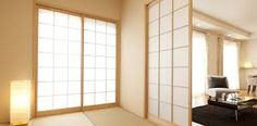 Japanese doors for your home Japanese Door, Washitsu, Asian House, Guest Room, My House, Doors, The Originals, Cool Stuff, Furniture