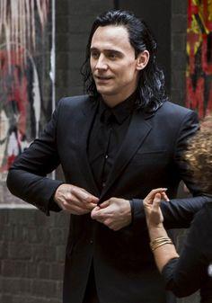 Tom Hiddleston as Loki ♡