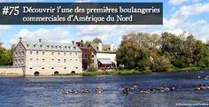 Un ensemble exceptionnel de moulins au cœur d'une seigneurie, L'île-des-Moulins - Québec, Canada