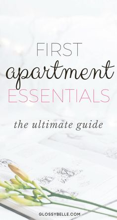 If you're about to move out into your first apartment, here are the most important apartment essentials you'll need to be ready to move out on your own. adulting   move out for the first time   moving out   independence   college essentials   college dorm   room essentials   home decor   cleaning essentials   kitchen essentials   bedroom essentials   bathroom essentials   living essentials