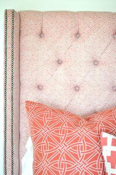 Schumacher greek keys & durance embroidery Kravet, Thom Filicia City Square
