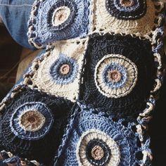 Why, yes, I am still here!   a bag full of crochet