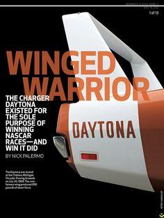 1969 Dodge Charger Daytona vintage print advertisement
