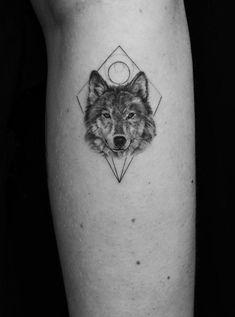 Wolf Tattoos – Tattoo Insider Wolf Tattoos – Tattoo Insider This image has g… - Body Art Wolf Tattoos, Leg Tattoos, Body Art Tattoos, Tattos, Husky Tattoo, Wolf Tattoo Design, Tattoo Designs, Small Wolf Tattoo, Small Tattoos