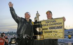 Shawn Langdon is the 2013 Top Fuel Champion