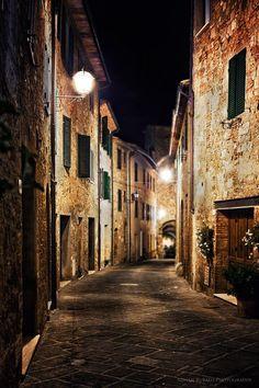 San Quirico d'Orcia, Italy (near Siena)