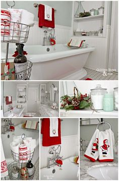 Bathroom Decorating Ideas For Christmas top 35 christmas bathroom decorations ideas | christmas bathroom