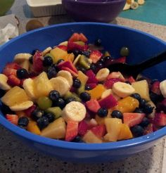 Add vanilla pudding to your next fruit salad with this top-rated recipe from Food.com.