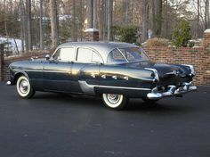 1952 Packard Patrician 400 (Dark blue with dark silver ...
