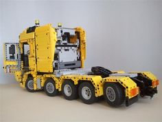 Let me show you another older MOC of mine. I'm also a big fan of Volvo trucks especially new FH4 and so I decided to make a five axle tractor unit. It had t...