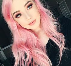 101 Pink Hair Ideas You'll Love @stylecaster | Gorgeous pink curls