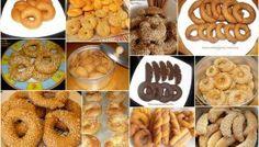 Η πρότασή μας #9 : Λαδερά κουλουράκια για όλα τα γούστα! Sweet Buns, Sweet Pie, Greek Desserts, Greek Recipes, Greek Cookies, Biscotti, Tea Time, Donuts, Waffles