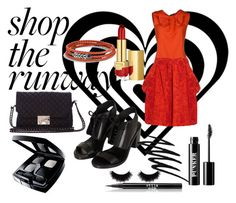 """""""Shop the Runway"""" by coppin-s ❤ liked on Polyvore featuring Moschino, Vivienne Westwood Anglomania, David Yurman, Pull&Bear, shu uemura, Topshop, Estée Lauder, Prescriptives, Ardency Inn and Chanel"""