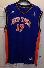 New York Knicks Replica Jersey #17 Jeremy Lin by Adidas - Screen Printed