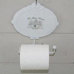 Derouleur papier toilettes mathilde m deco charme deco for Kitchen colors with white cabinets with derouleur papier wc