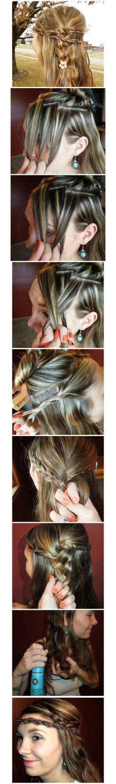 Amy_Robinson3 #festivalhair #hairtutorial #coachellahair #sexyahir #howto #DYI #Concerthair