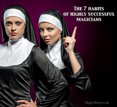 The 7 habits of highly successful magicians :  http://blog.magicshop.co.uk/2013/11/7-habits-successful-close-up-magicians.html http://blog.magicshop.co.uk/wp-content/uploads/2013/11/successful-magicians-habits-1.jpg