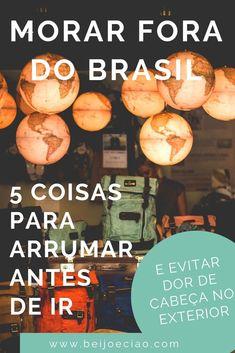 Antes de morar fora do Brasil, você precisa resolver algumas coisas por aqui para não ter problemas no exterior - e MUITA gente esquece delas! #morarfora #morarforadobrasil #exterior #vivernoexterior Exterior, Movies, Movie Posters, Couple Things, Kiss, Travel Tips, Viajes, Film Poster, Films