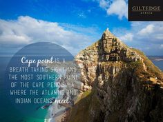 Cape Town | Cape Point Table Mountain, Take A Breath, Cape Town, Africa, Ocean, City, Travel, Image, Viajes