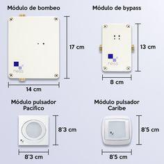 Medidas módulos del dispositivo de ahorro de agua NESS #ahorro #agua #NESS #ingeniería #engineering