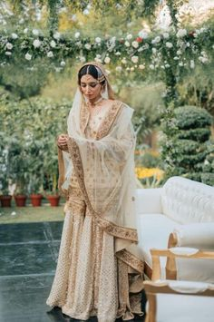 Gorgeous Wedding Of A Cricket Presenter In The Most Stunning Bridal Outfits Asian Bridal Dresses, Pakistani Wedding Outfits, Pakistani Bridal Dresses, Pakistani Wedding Dresses, Bridal Outfits, Wedding Attire, Indian Outfits, Pakistani Clothing, Wedding Hijab