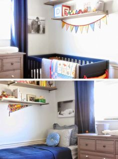 Shared Bedroom and Nursery {Oh, Yeah, We're Having a Baby}
