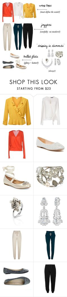 """""""Theatrical Romantic Casual"""" by sophia006 ❤ liked on Polyvore featuring Miss Selfridge, French Connection, Diane Von Furstenberg, Lauren Lorraine, Badgley Mischka, Philippe Ferrandis, Niza Huang, Givenchy, Max & Moi and Negarin"""