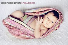 How to wrap a newborn with a scarf