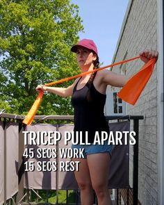 Resistance Band Arms, Resistance Workout, Resistance Band Exercises, Arm Exercises, Stretches, Hiit Workout At Home, Workout Videos, At Home Workouts, Cardio