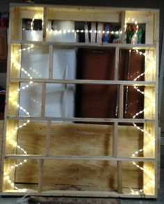 The 24 foot LED rope lighting was snaked through the top bed frame for the floating effect