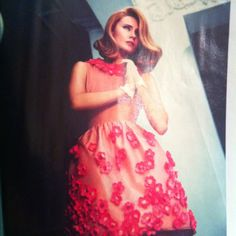 Petal power dress from Asos salon...such vintage glamour style :) gorg!