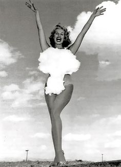 Miss Atomic Test, Las Vegas, 1954