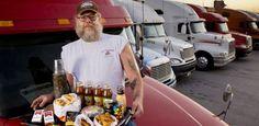 Nghề lái xe tải chạy đường dài ở Mỹ