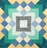 Free Quilt Block: Sentry's Pastime in Quilters Newsletter June/July 2014
