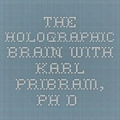 THE HOLOGRAPHIC BRAIN with KARL PRIBRAM, Ph.D.