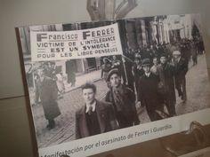"""IV Seminario """"La fotografía y la renovación pedagógica"""" y muestra de paneles de """"Una imatge, una historia"""" (UIB). Mayo-junio 2014, Facultad de Educación."""