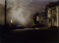 Gregory Crewdson   Production still (Black street)