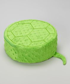 Green Bumpy Turtle Vibrating Pillow