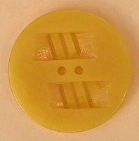 1930's Casein button, golden yellow (CN095)  - thebuttonbower.com