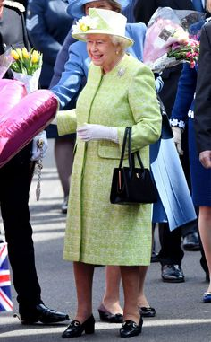 Queen Elizabeth from The Big Picture: Today's Hot Pics  Happy birthday! The Queen is spotted out in London celebrating the big 9-0.