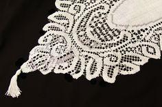 "Crochet Lace Table Runner - Ivory 13"" x 108"" (9ft) $2.99 each 15= $45"