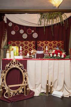 Decoration of the new-marriage couple`s zone